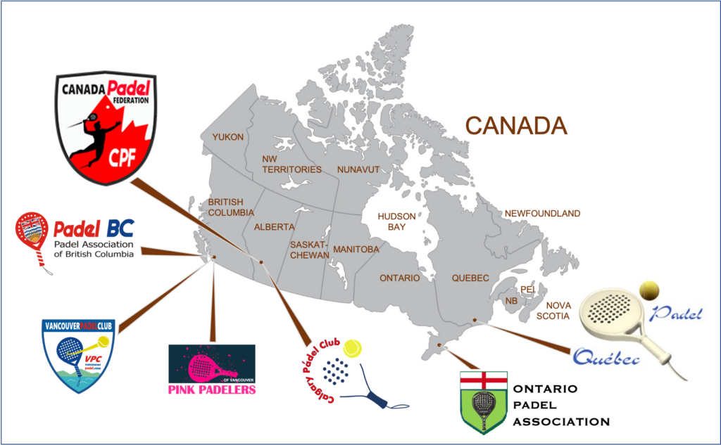 CPF Canada Padel Federation Affiliates
