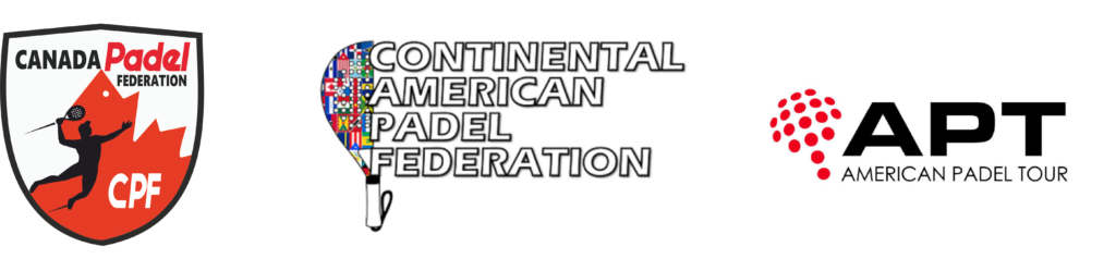 Canada PADEL Federation and the Continental American Padel Federation, APT
