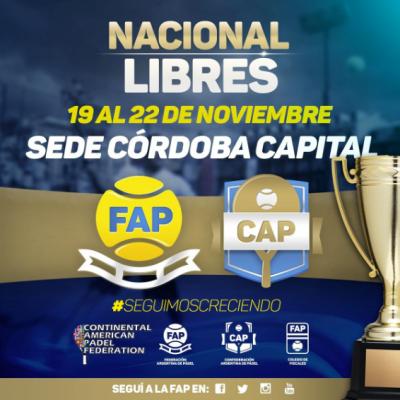Continental Padel Federation National OPEN Cordoba Argentina